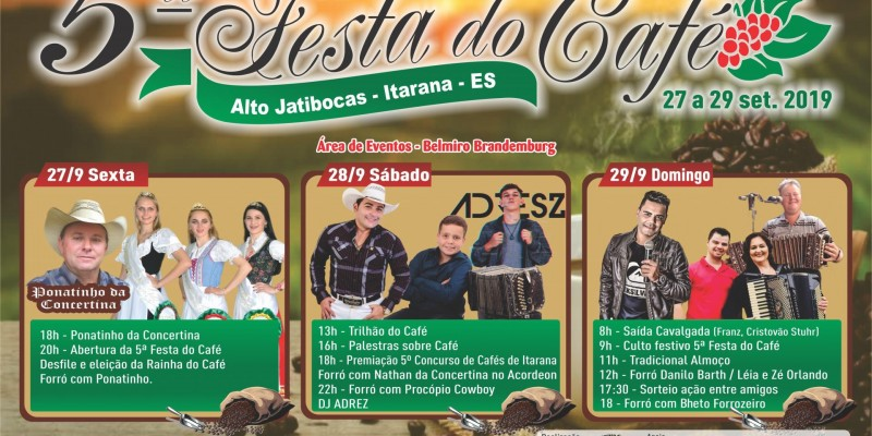 5ª Festa do Café de Alto Jatibocas