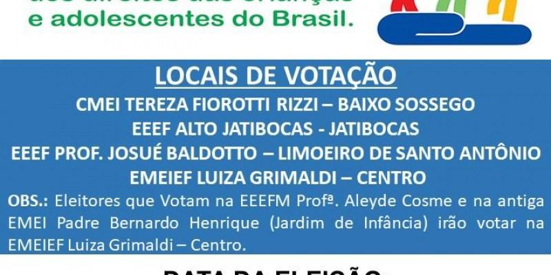 Convocação Conselho Tutelar de Itarana
