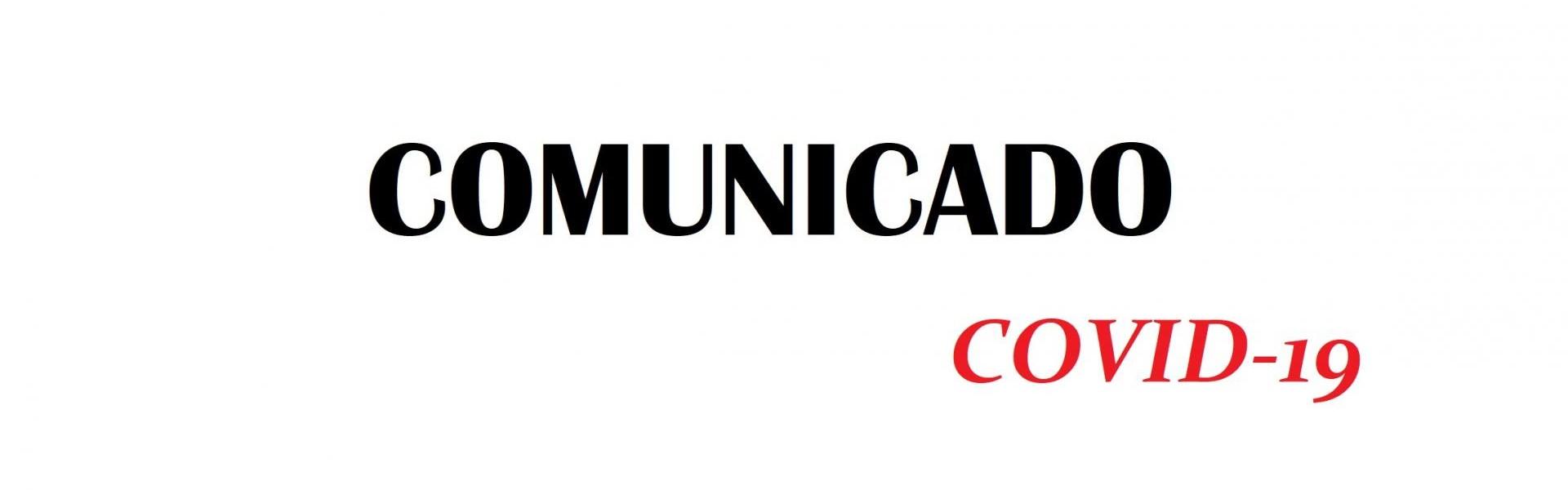 Comunicado - Coronavírus (COVID-19): Aulas da rede municipal de ensino ficarão suspensas até 31 de agosto