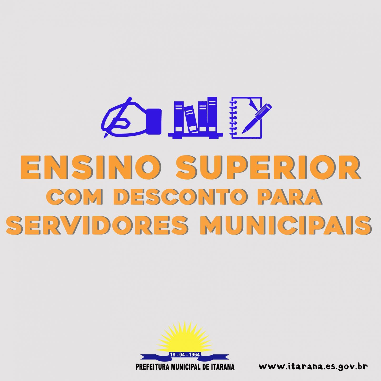 Prefeitura celebra convênio com faculdade para oferecer descontos aos servidores