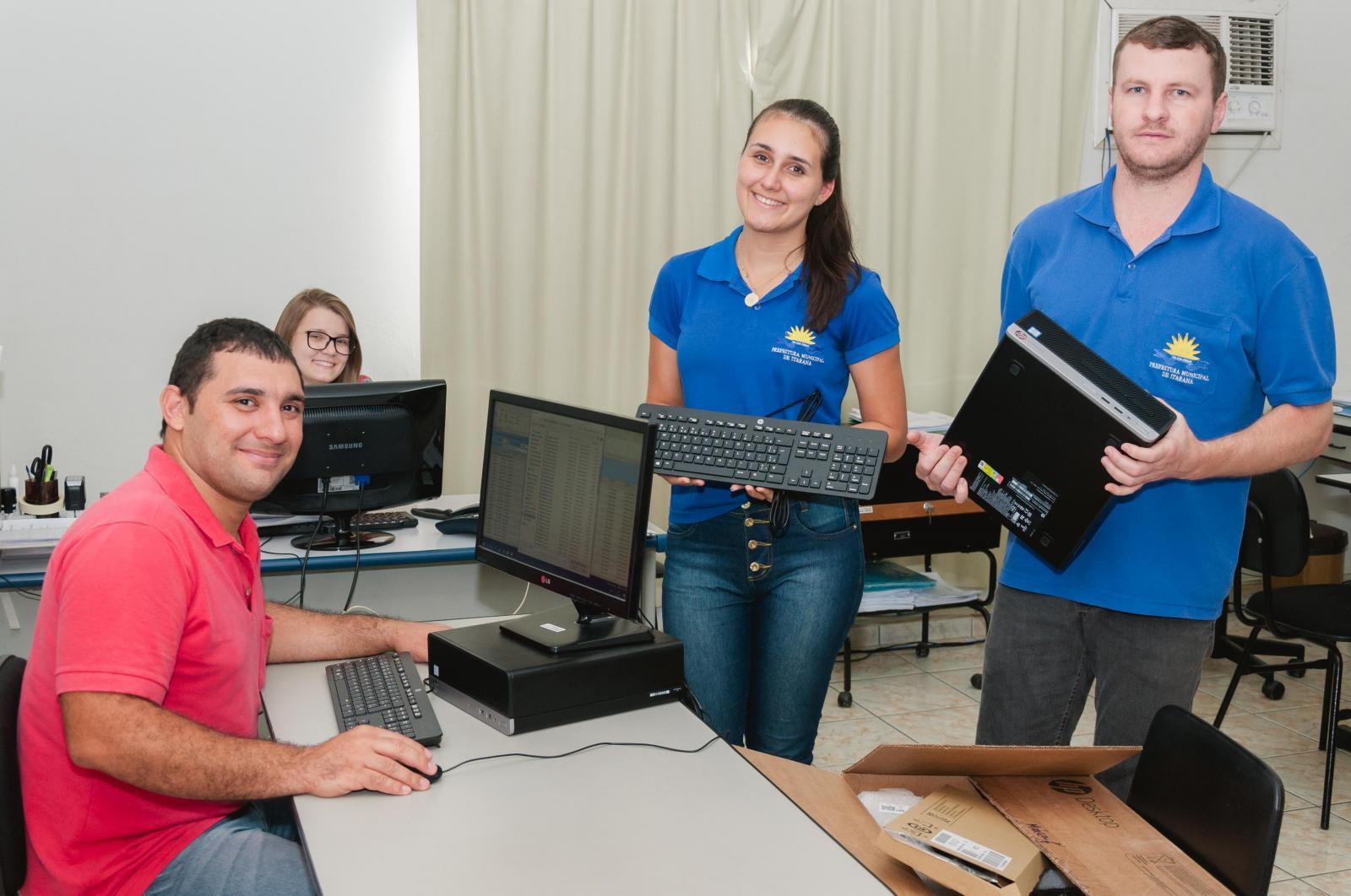 Prefeitura adquiriu novos computadores