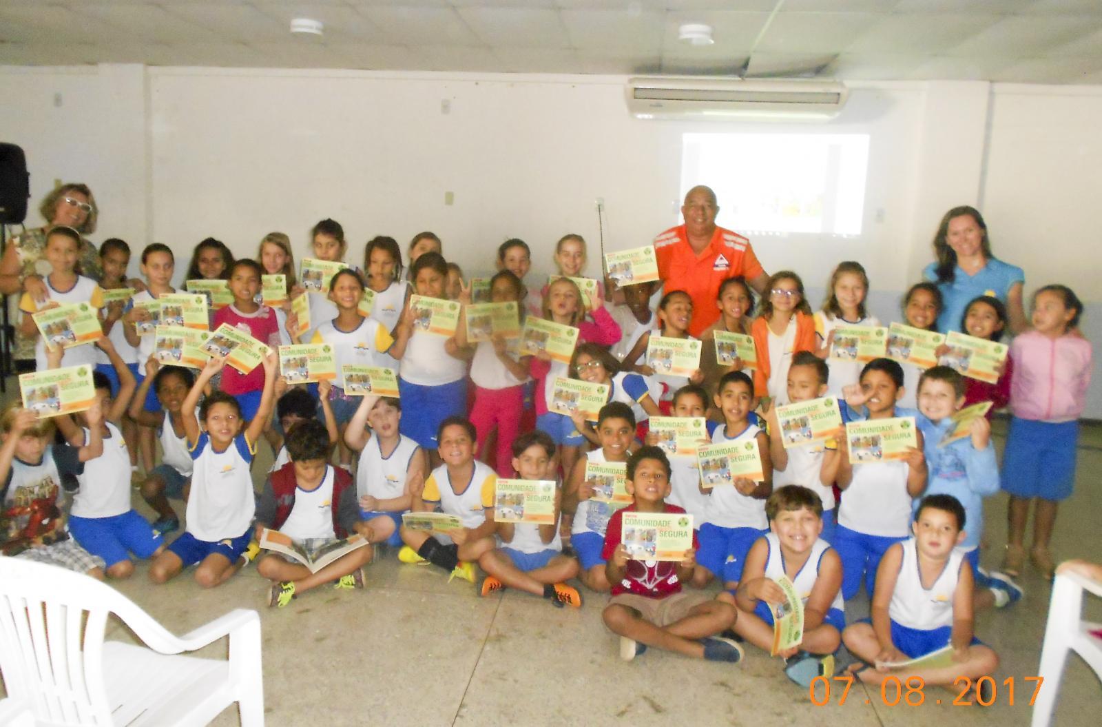 Semana Estadual da Defesa Civil leva palestras de orientação para escolas
