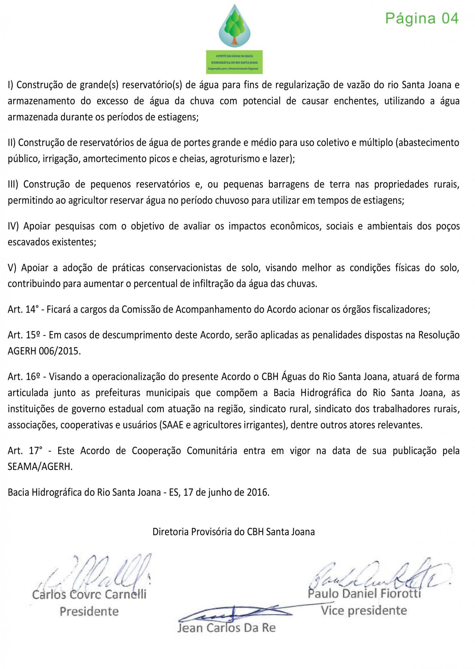 Reunião discutiu a crise hídrica na Bacia do Rio Santa Joana