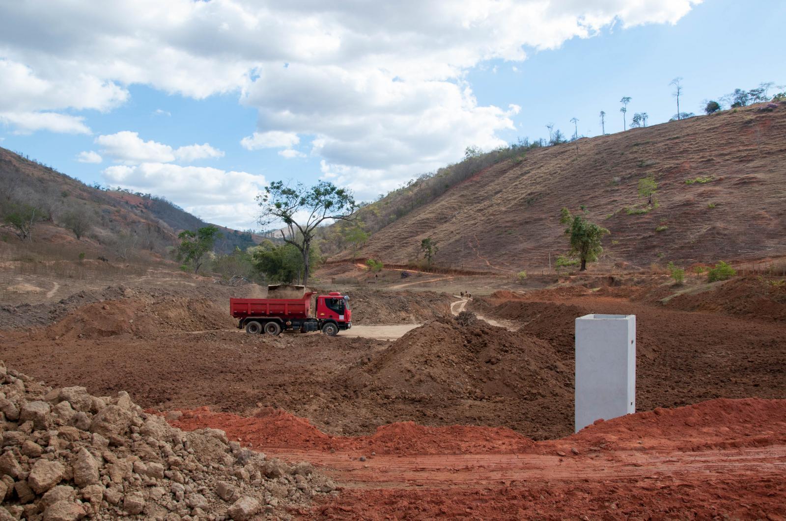 Secretaria de Agricultura apoia produtores na construção de barragens