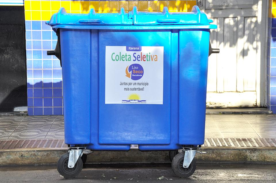 Semana da Coleta Seletiva chamou atenção para a separação e a destinação adequadas do lixo