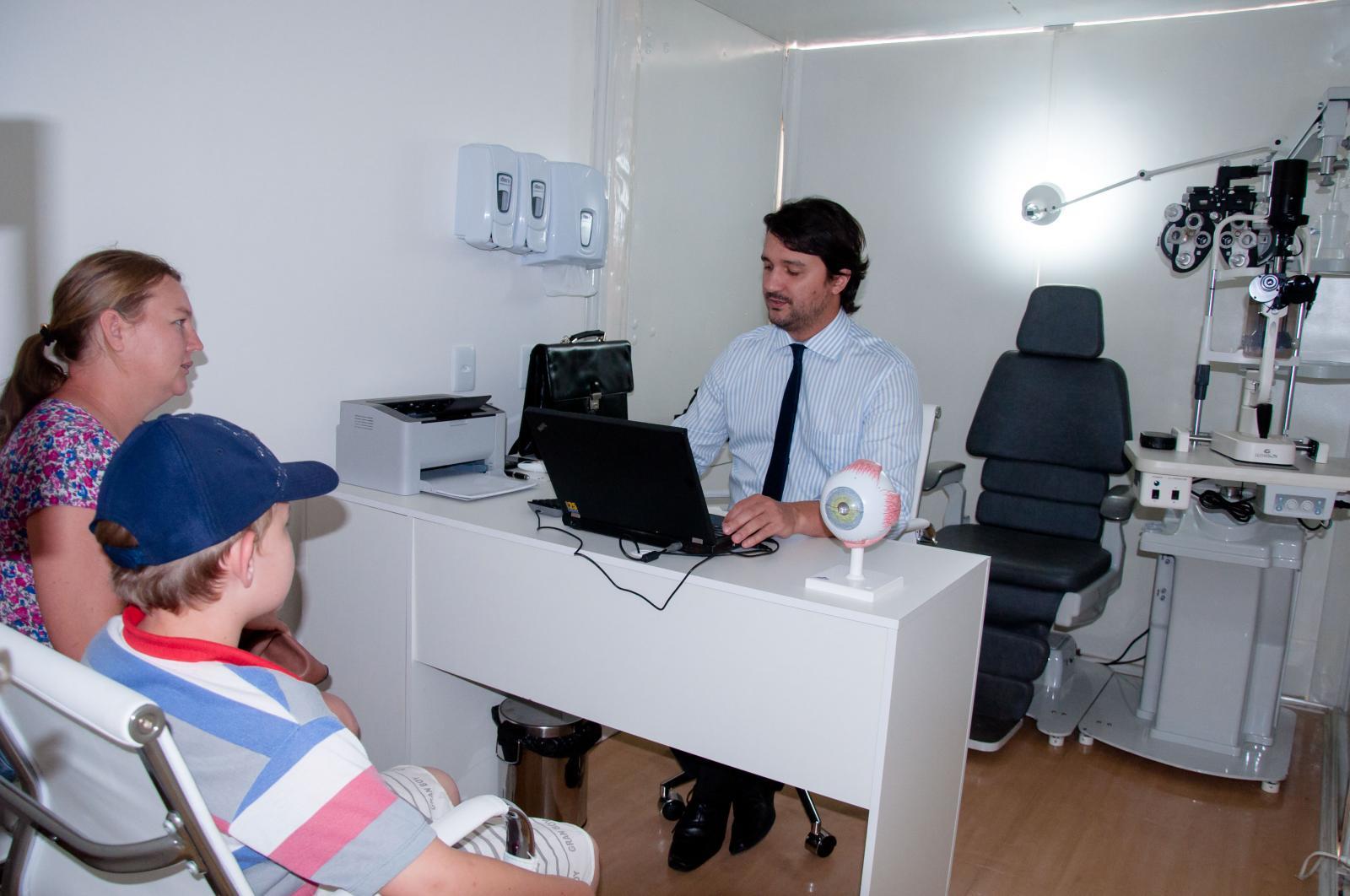 Secretaria de Saúde oferece consultas oftalmológicas na sede do município