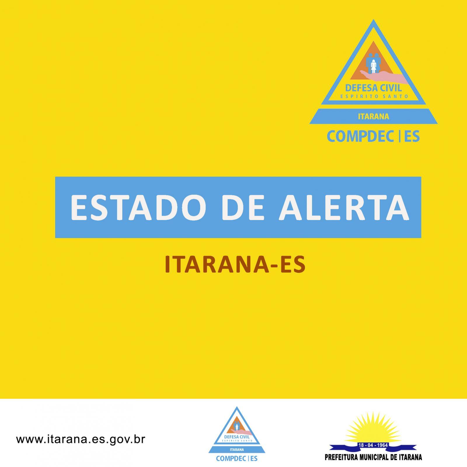 Estado de Alerta - Defesa Civil Municipal