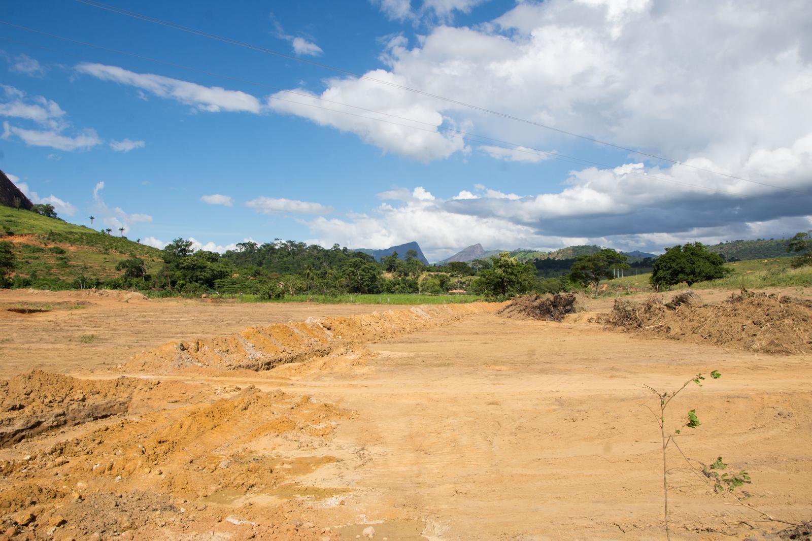 Barragem comunitária do Penedo começou a ser construída