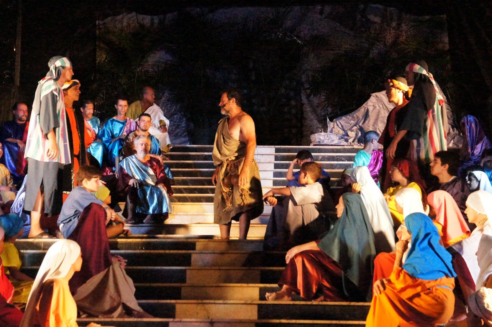 Teatro da Semana Santa de Itarana terá mudanças no elenco e no roteiro