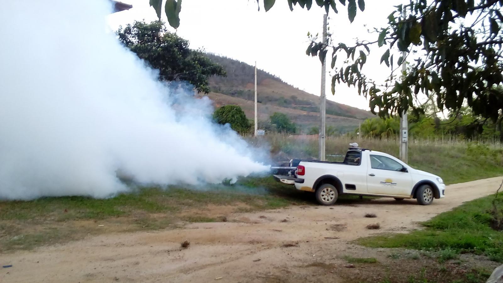 Carro fumacê vai percorrer área urbana e Rizzi nesta quinta (19) e sexta-feira (20)