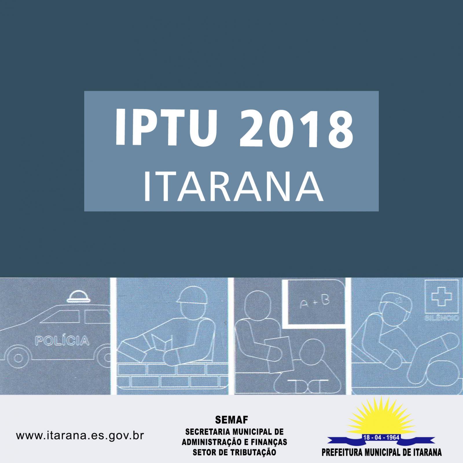Cota única do IPTU vence no dia 13 de junho