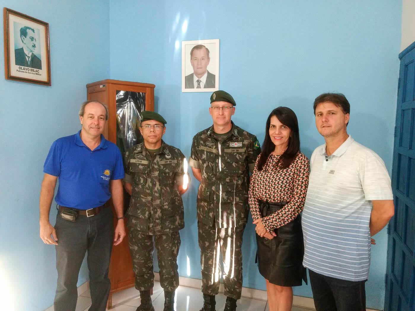 Junta do Serviço Militar de Itarana recebeu orientação técnica