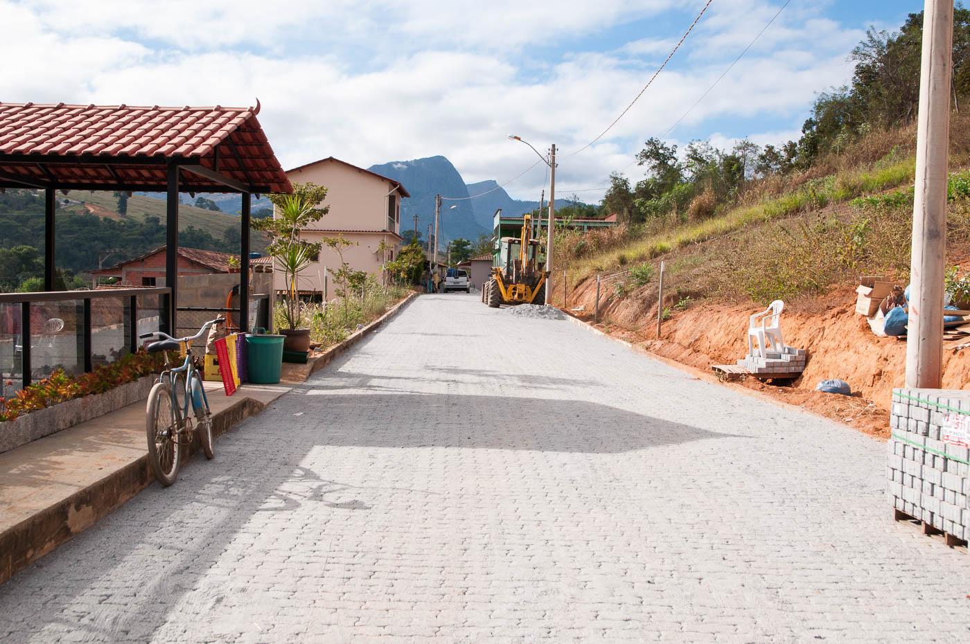 Mais duas ruas da Sede serão pavimentadas pela Prefeitura