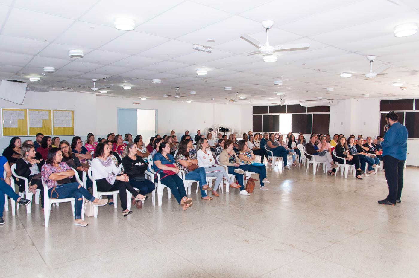 Secretaria de Educação de Itarana promoveu Jornada Pedagógica com docentes
