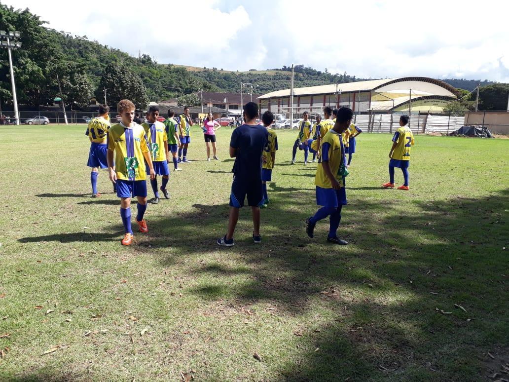Itarana na final da Liga Serrana Infantil