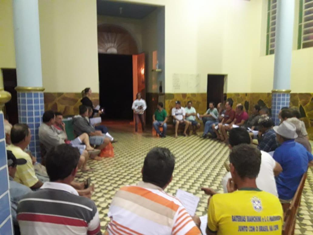 NAC de Itarana inicia ciclo de palestras educativas para produtores rurais