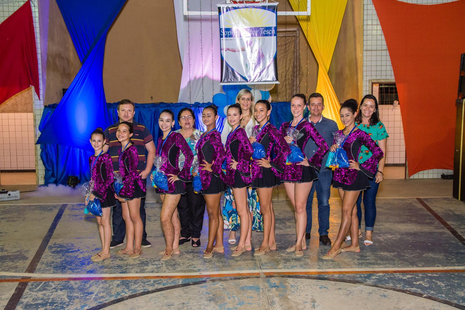 Secretaria de Desporto realizou Festival de Ginástica Rítmica, evento encerrou as atividades de 2018