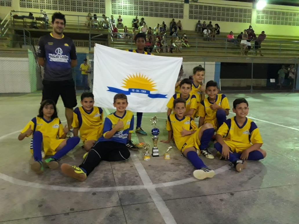 Itarana campeã invicta da Copa Laranjense de Futsal