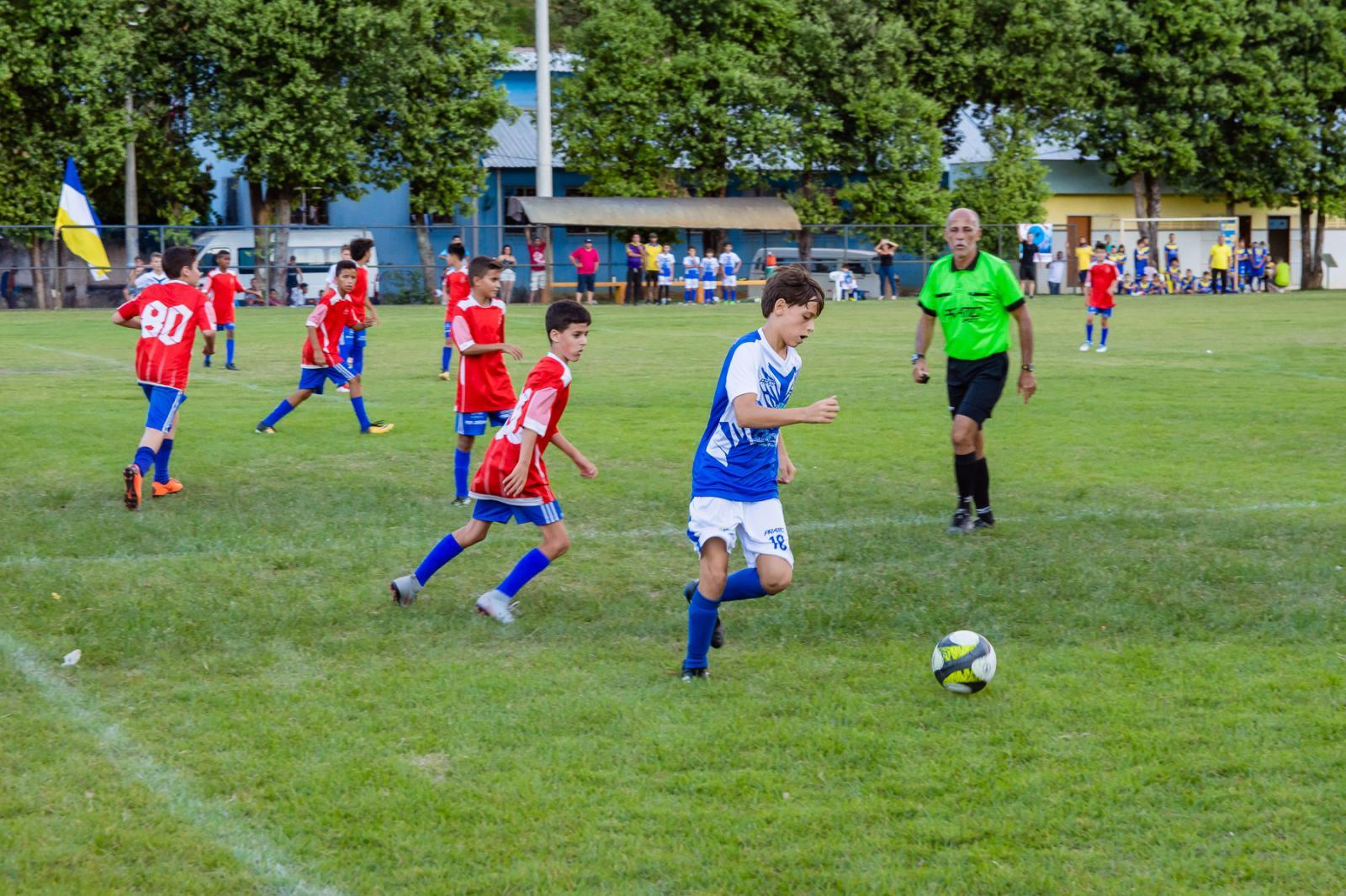 Placar dos jogos das Finais Gerais da 43ª Copa A Gazetinha em Itarana