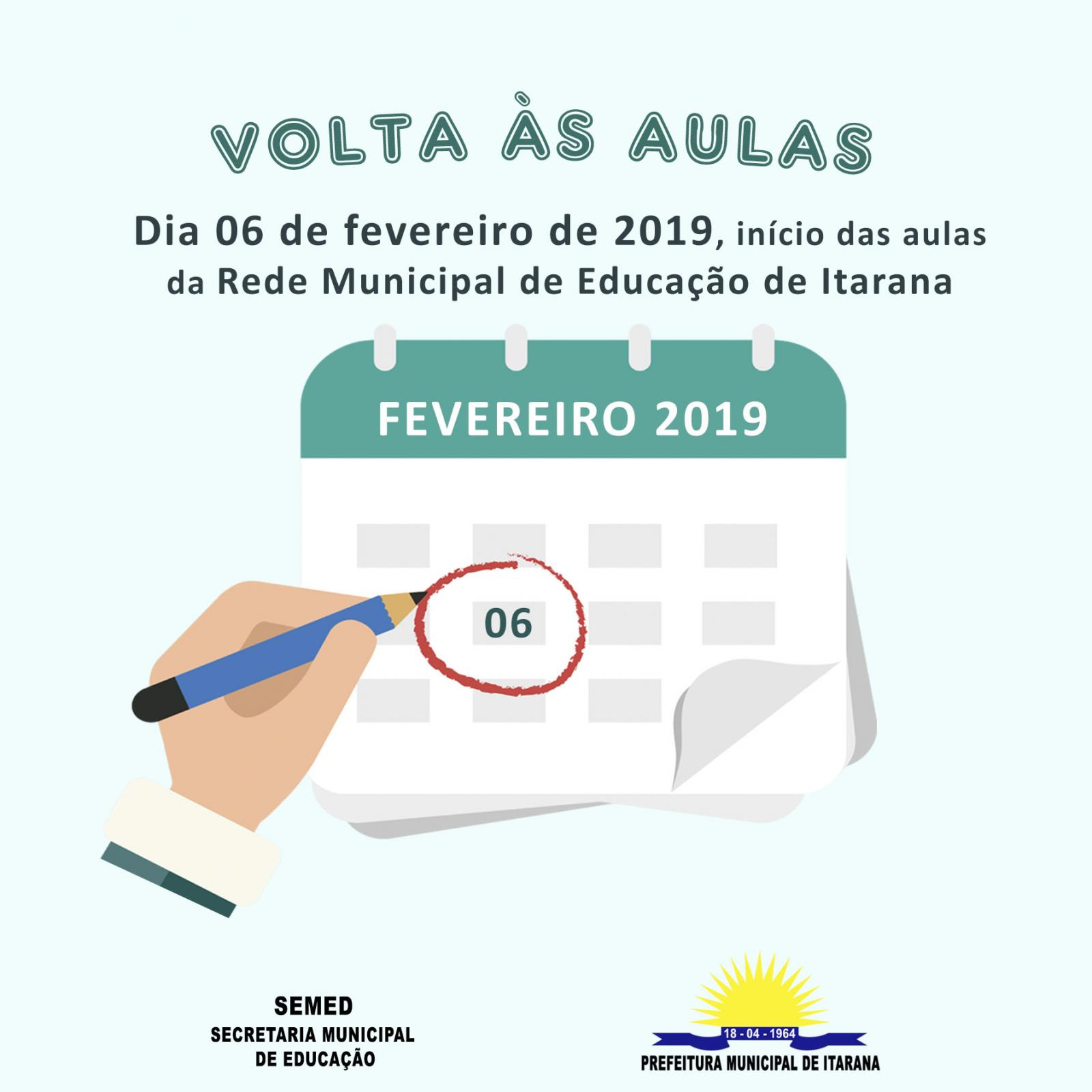 Volta às aulas em Itarana será no dia 06, professores serão recepcionados com palestra motivacional