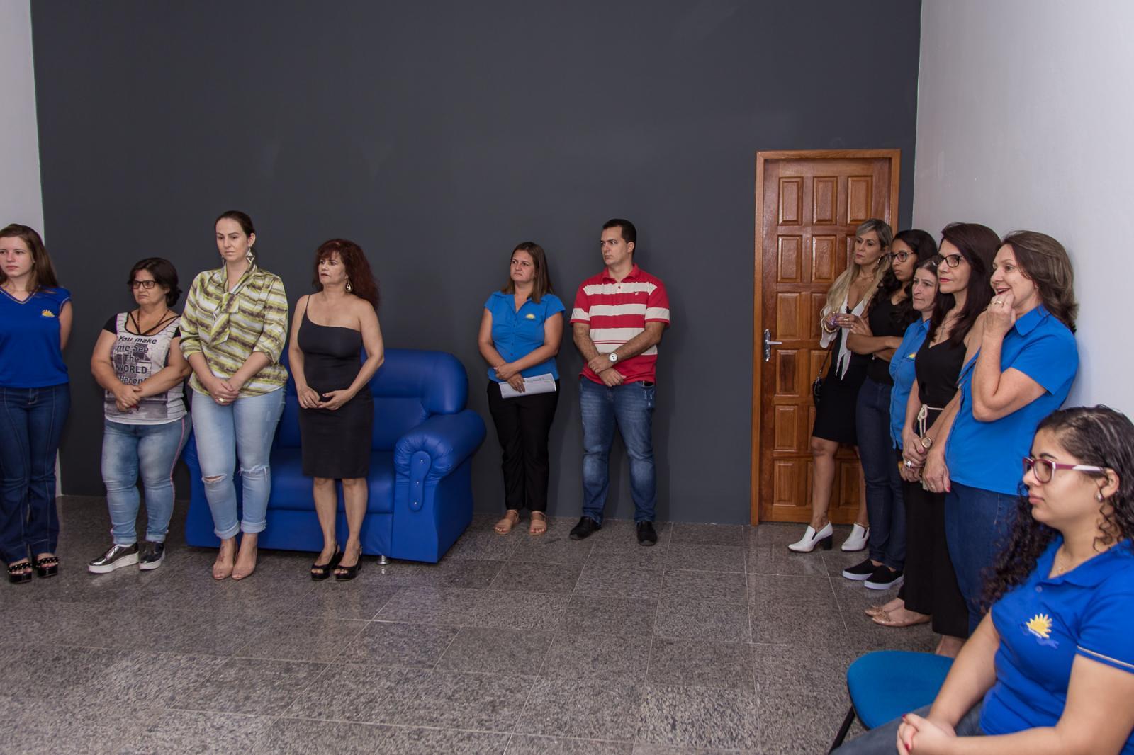 Prefeitura inaugura nova sala de reuniões e gabinete do prefeito