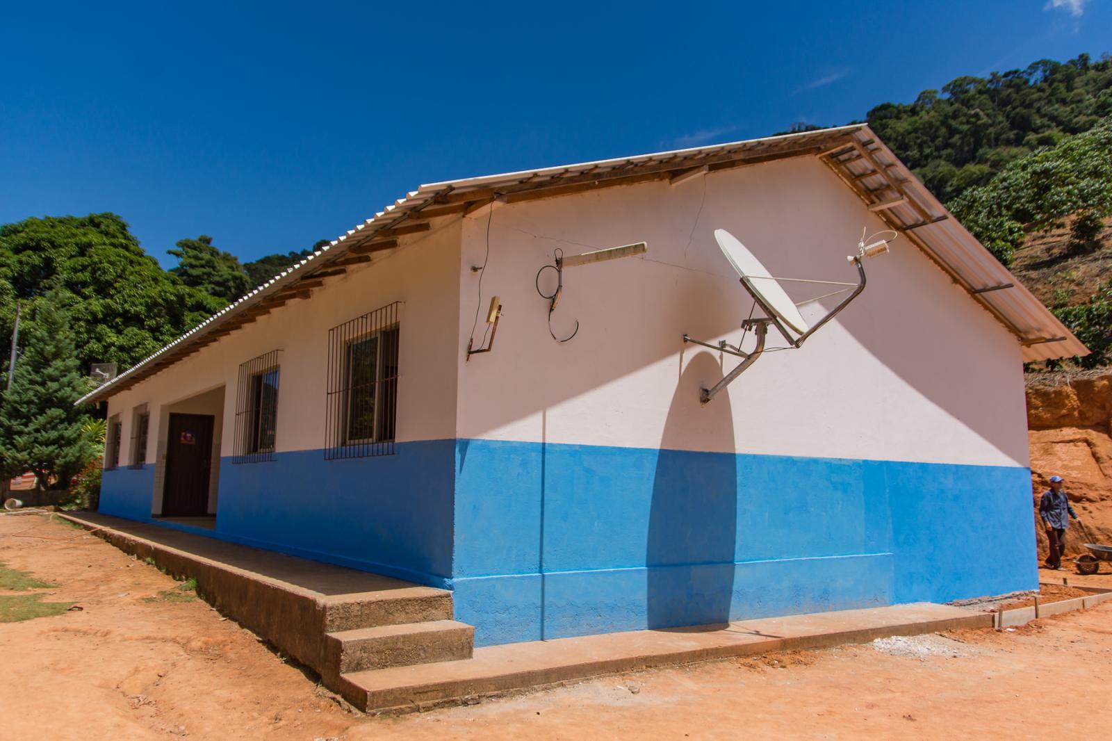 Escola Municipal de Alto Santa Joana passa por reforma e ampliação