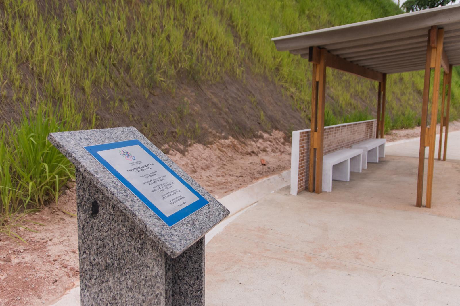Inauguradas as obras de pavimentação e drenagem da sede até o Rizzi