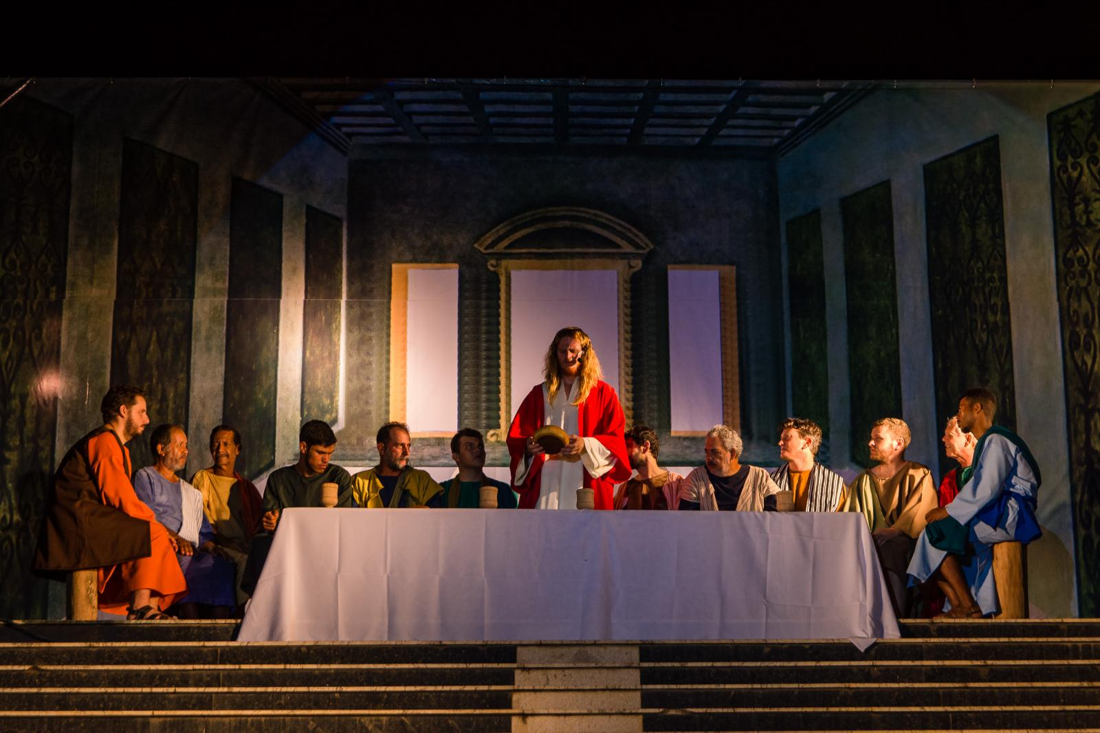 Teatro da Semana Santa de Itarana atraiu cerca de 3 mil espectadores segundo organizadores
