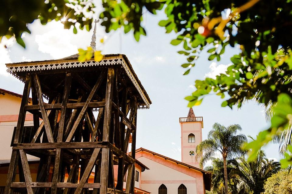 Série Atrativos Turísticos: Torre Sineira - Igreja Evangélica de Confissão Luterana de Alto Jatibocas