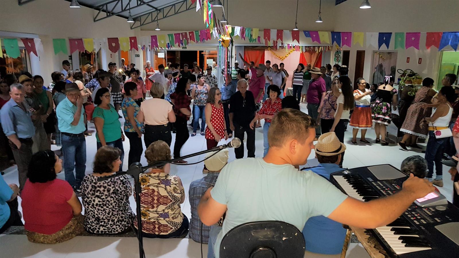 Festas Caipiras movimentaram as atividades do Serviço de Convivência e Fortalecimento de Vínculos de Itarana