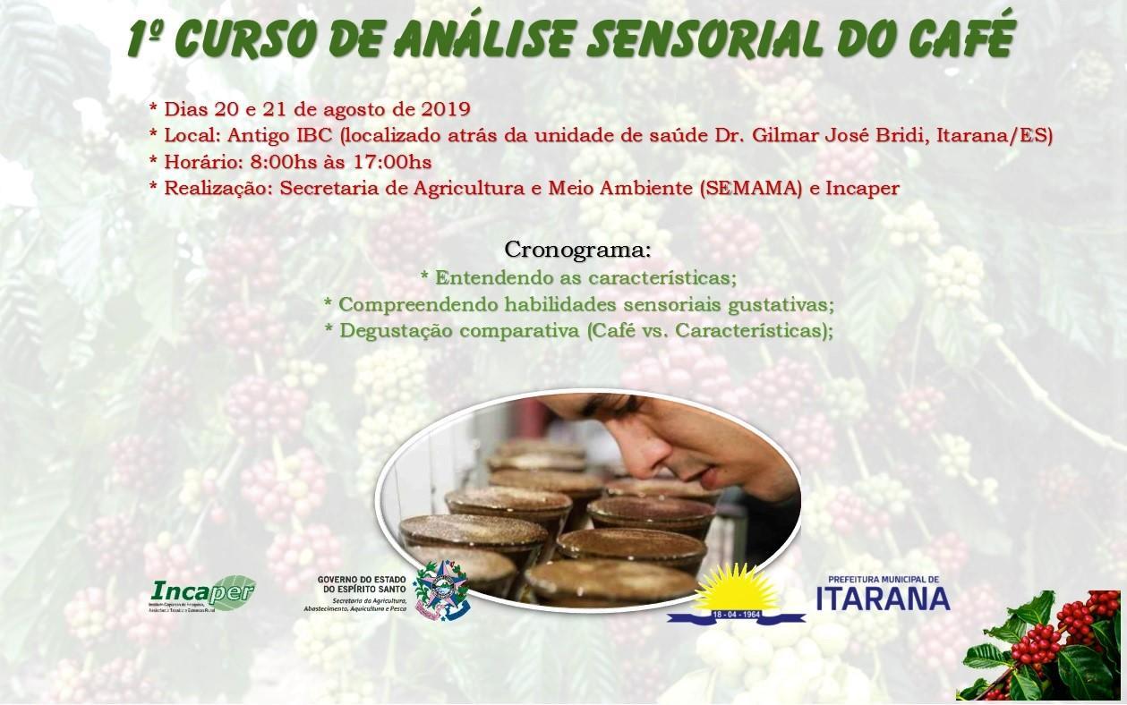 Curso promove o incentivo na produção do café de qualidade