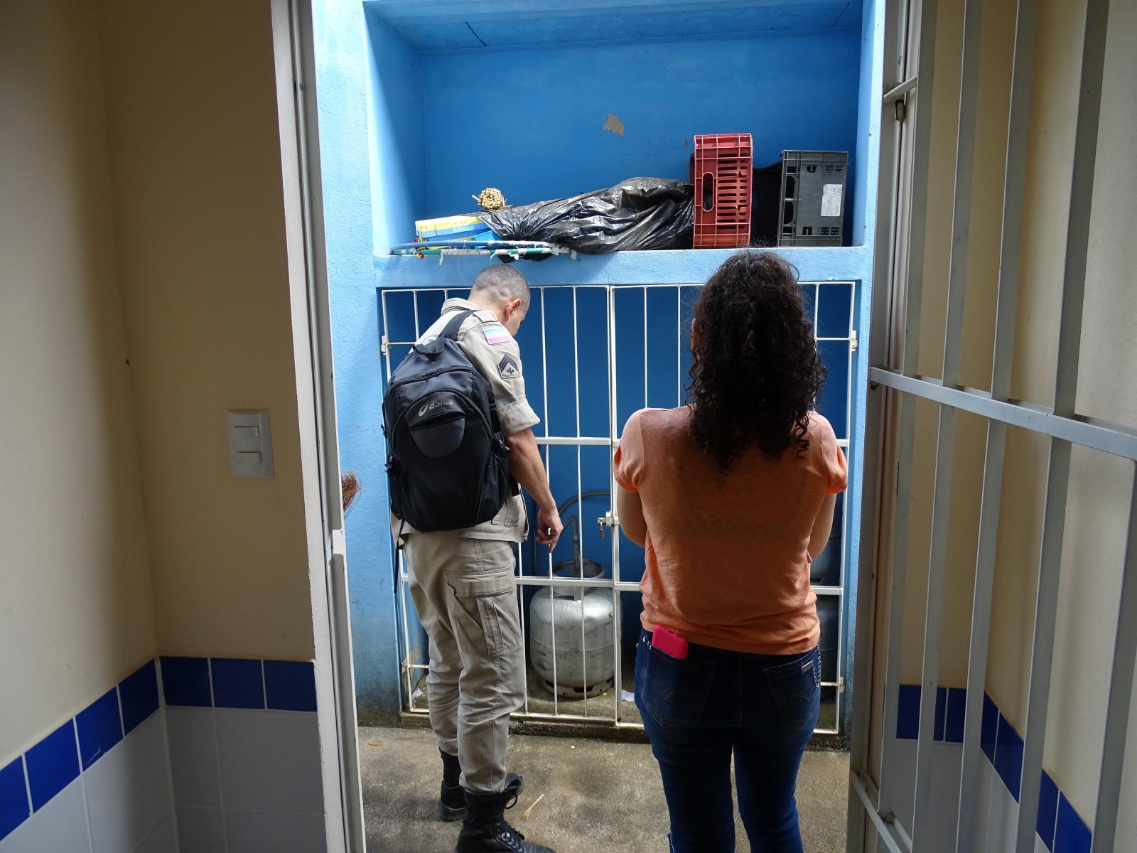 Escolas da rede municipal de ensino recebem vistoria do Corpo de Bombeiros