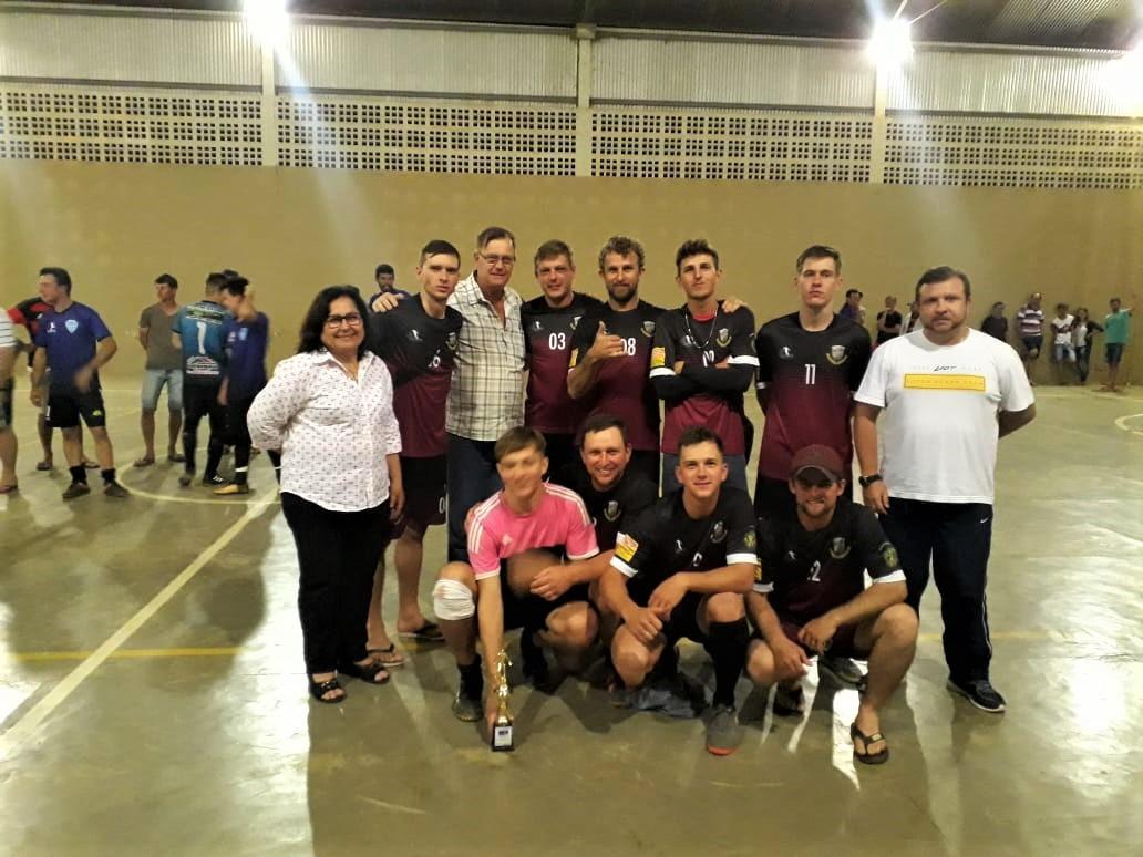 Time Aliados é o campeão do 1º Campeonato Municipal de Futsal Masculino de Alto Jatibocas