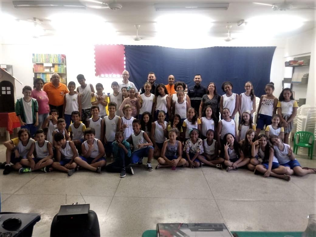 "Defesa Civil de Santa Maria de Jetibá realizou palestra na Escola Municipal ""Luiza Grimaldi"""