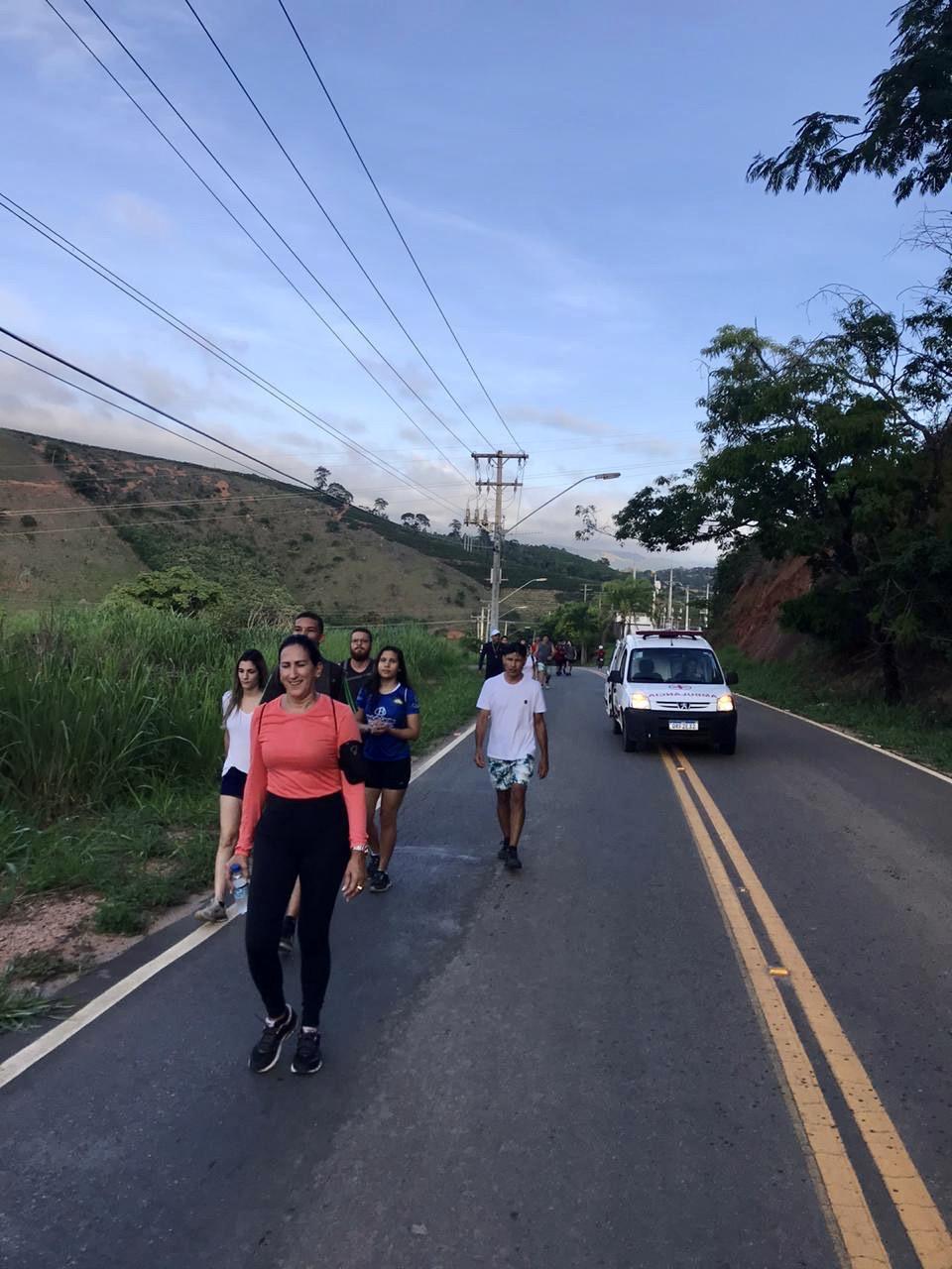 1ª Caminhada de Santa Luzia atrai um grande público