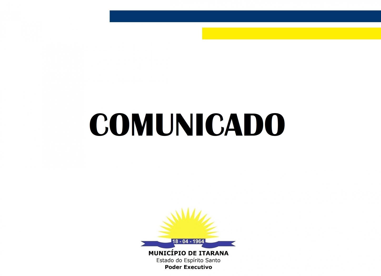 Comunicado - Atualização para o eSocial
