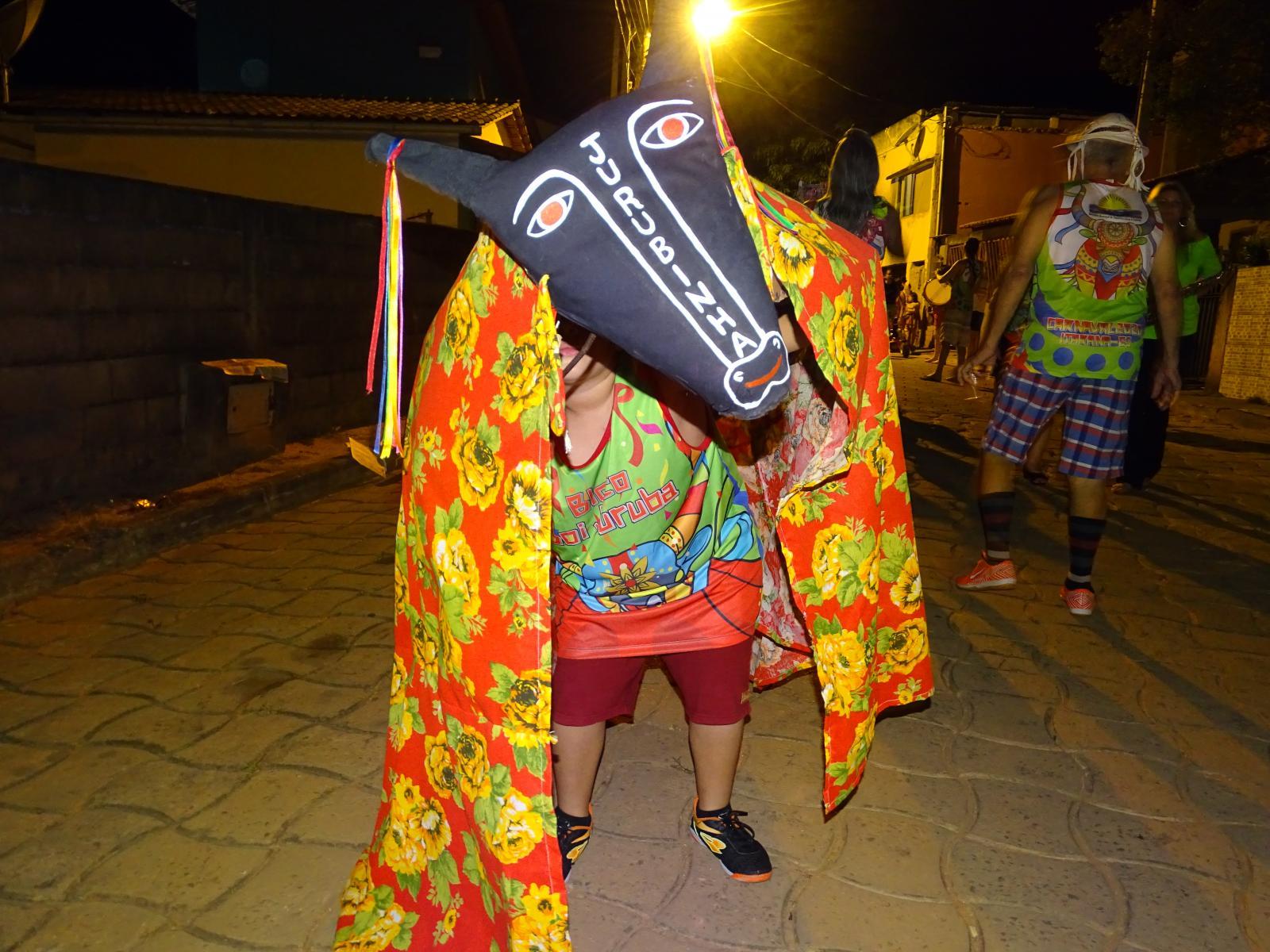Bloco Boi Juruba marca o início do carnaval de rua de Itarana 2020