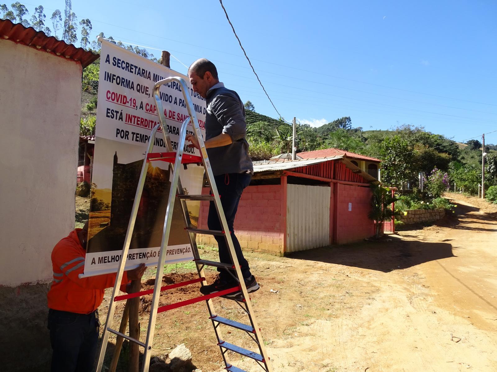 Coronavírus (COVID-19): Pontos turísticos de Itarana são interditados devido a alta frequentação em meio à pandemia