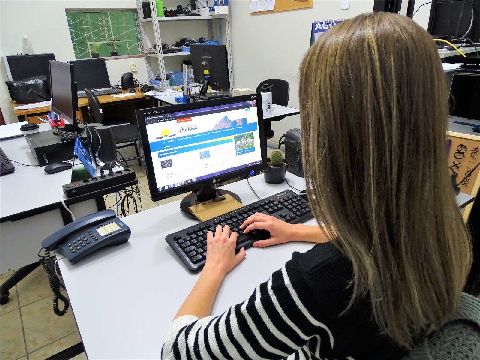 Site oficial e demais canais de comunicação da Prefeitura de Itarana estão vedados temporariamente por conta do período eleitoral
