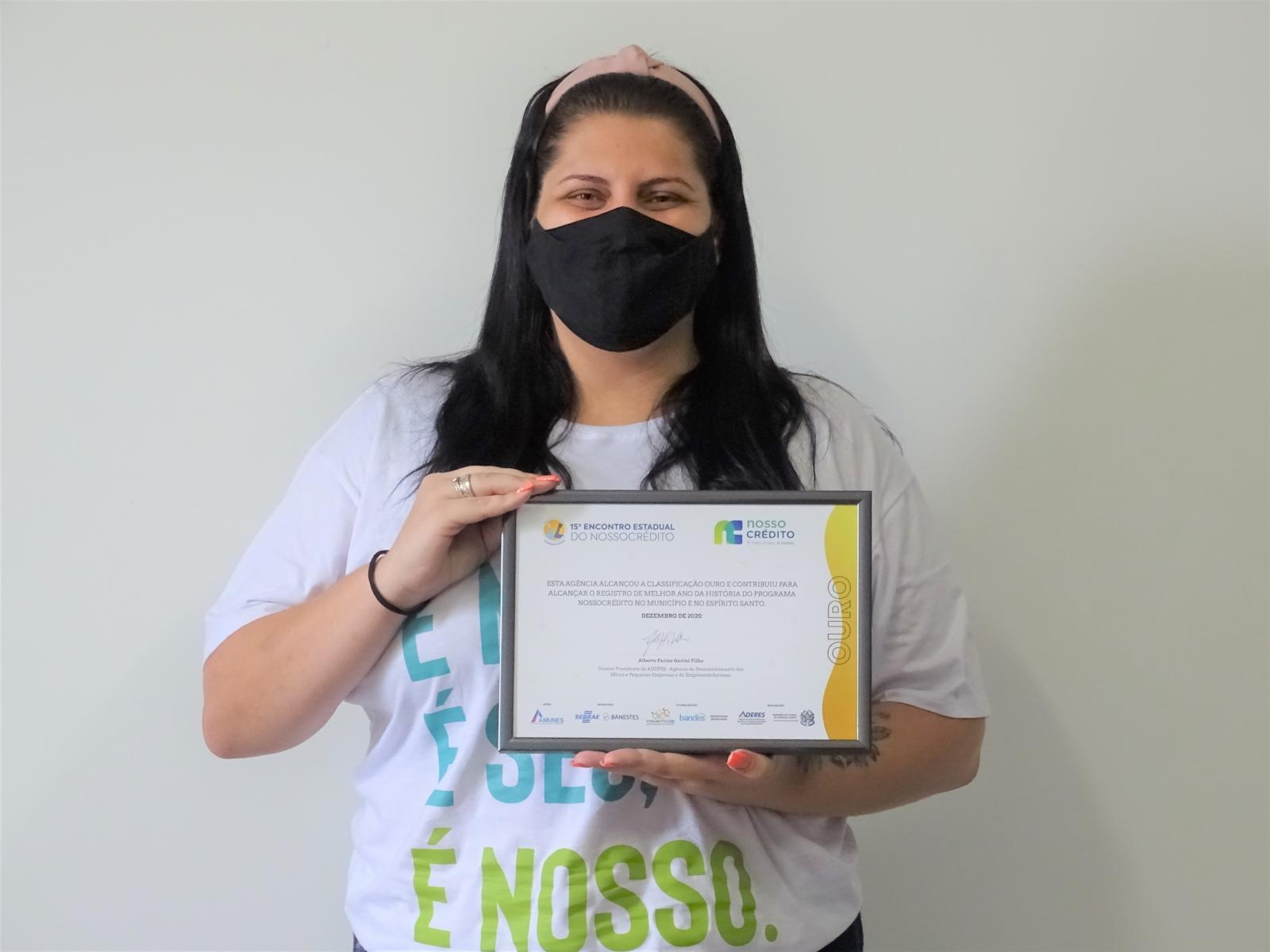Itarana foi premiada na categoria ouro na 15ª edição do Encontro Estadual Nossocrédito
