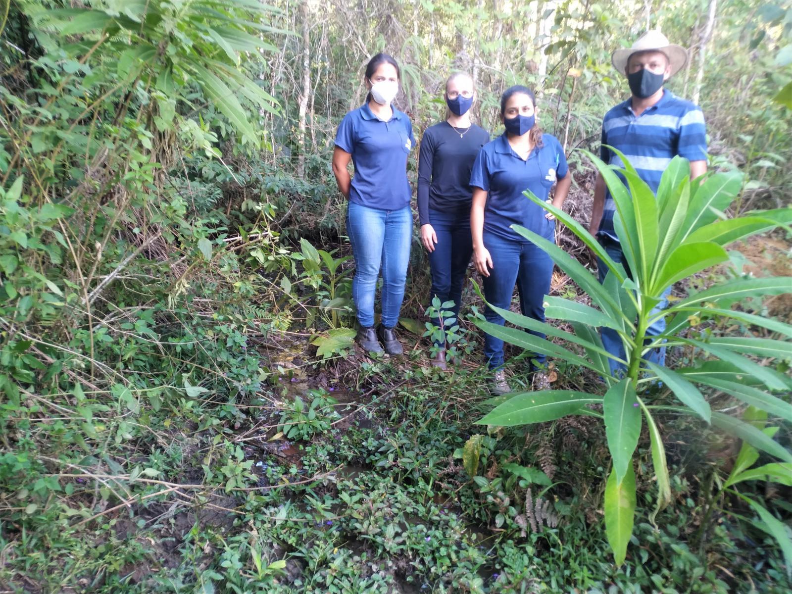 Secretaria Municipal de Agricultura e Meio Ambiente faz homenagem para o Dia Mundial da Água