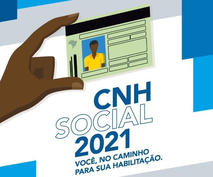 Estão abertas as inscrições para a 1ª fase do Projeto CNH Social do Detran