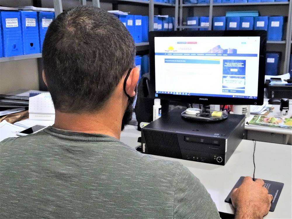 Serviço de requerimento de alvará é disponibilizado de forma on-line para os contribuintes
