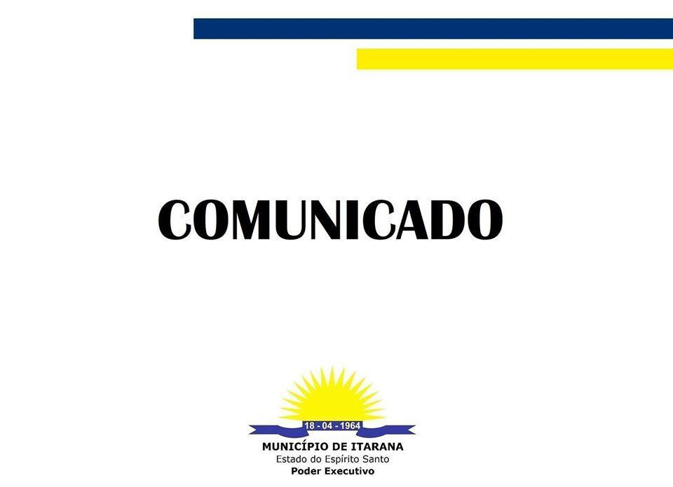 Comunicado - Retorno das aulas presenciais em agosto