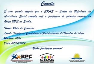 Convite - CRAS