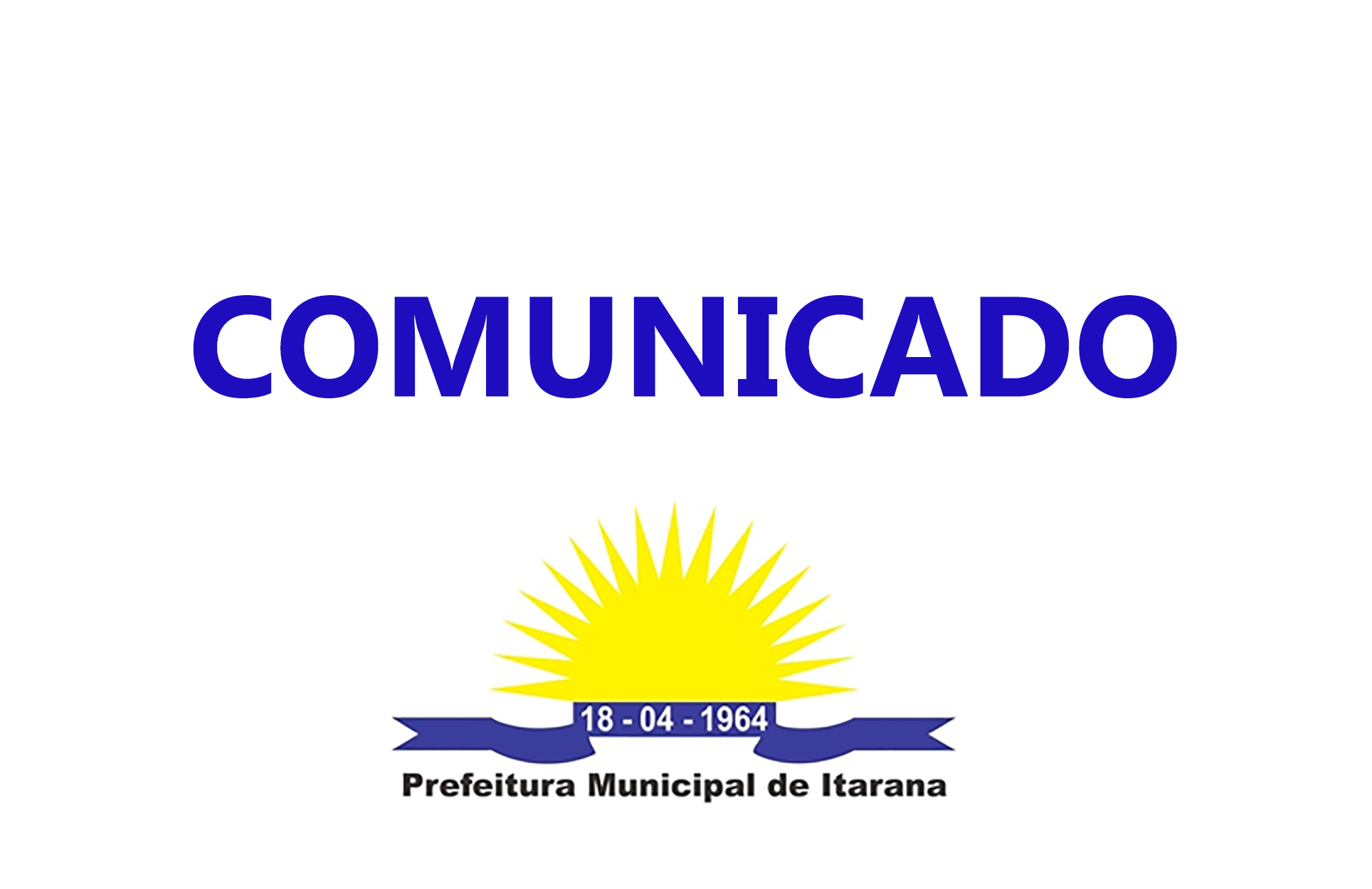 Comunicado - Programa Bolsa Família