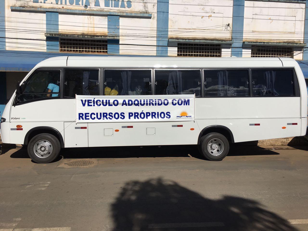 Secretaria Municipal de Saúde adquire Micro Ônibus