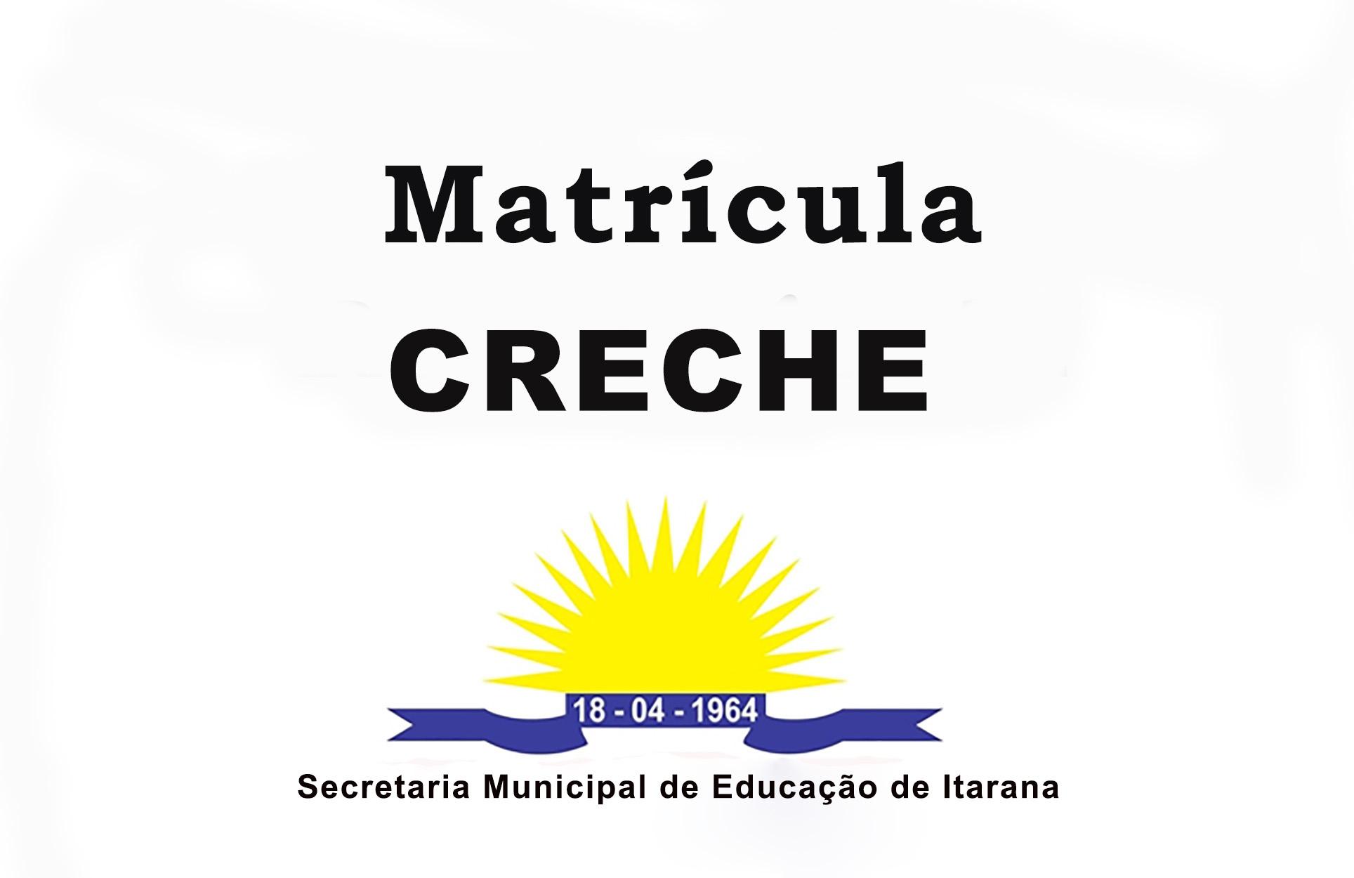 Educação divulga portaria para Matrícula Educação Infantil - Etapa Creche