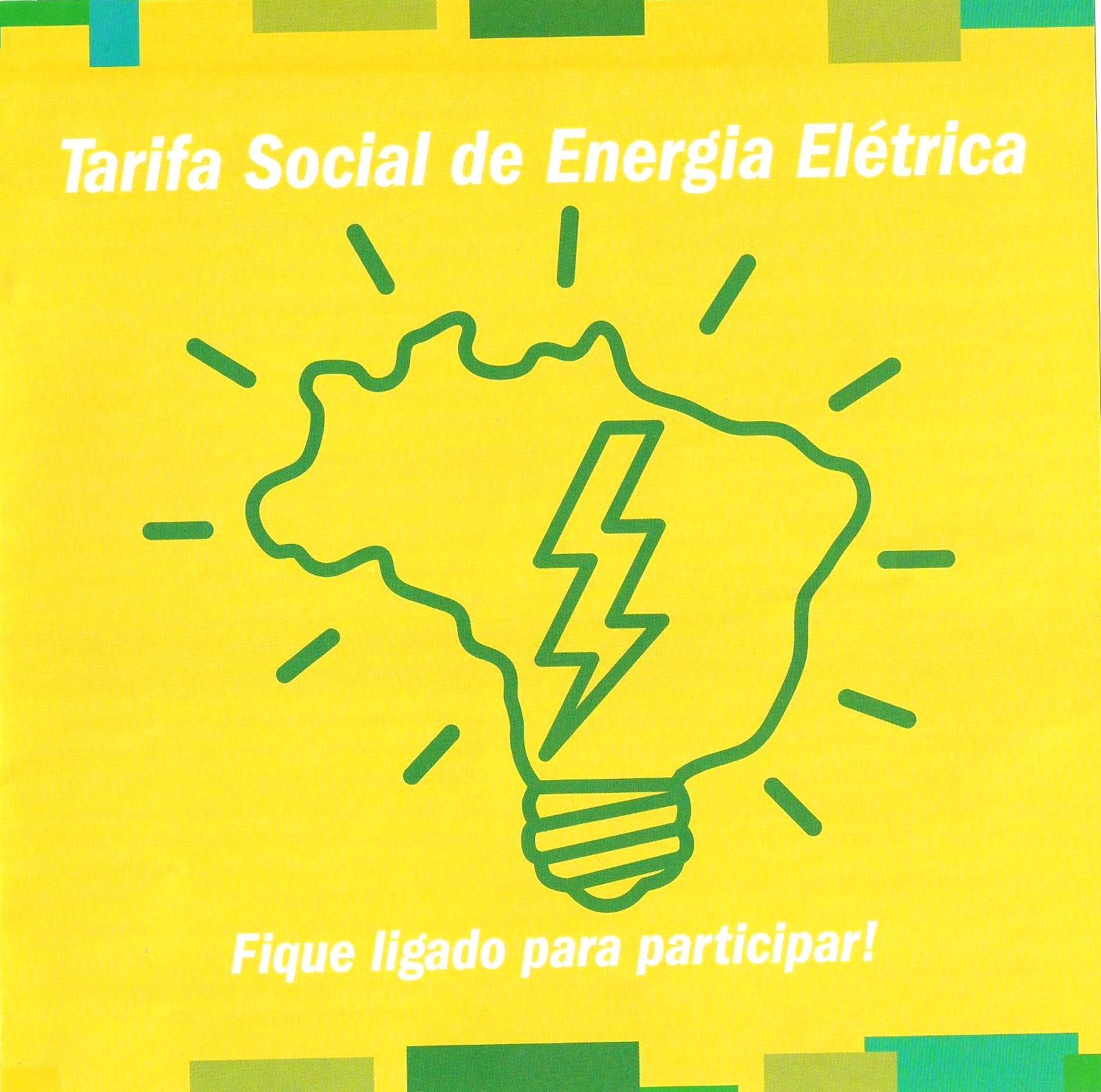 Desconto na conta de energia para famílias de baixa renda