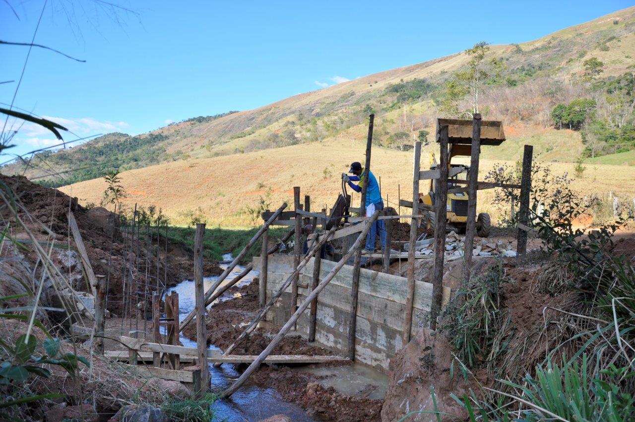 Construção de ponte vai beneficiar comunidade de Alto Sossego